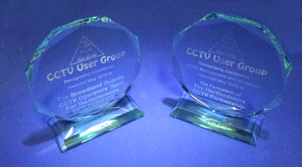 Hertfordshire CCTVP Ltd Awarded National CCTV User Group Awards